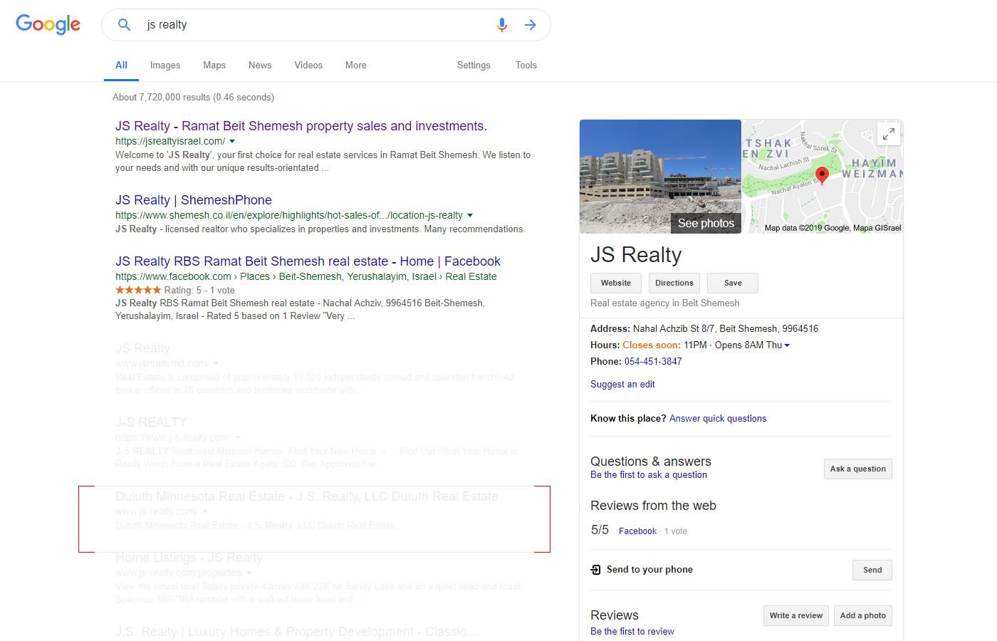 google-jsrealty