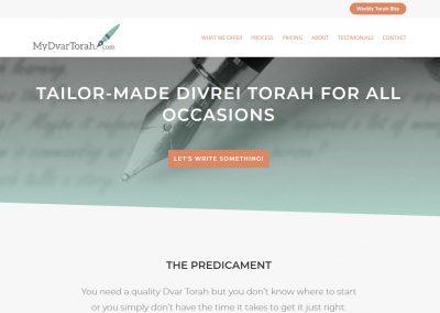 MyDvarTorah.com