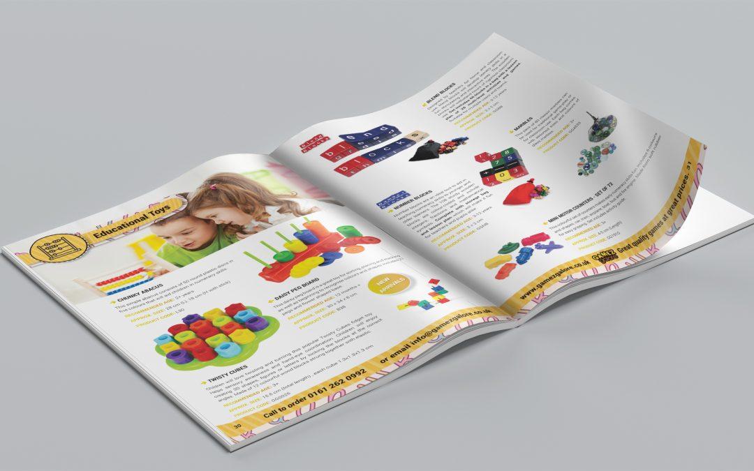 Gamez Galore Product Catalogue